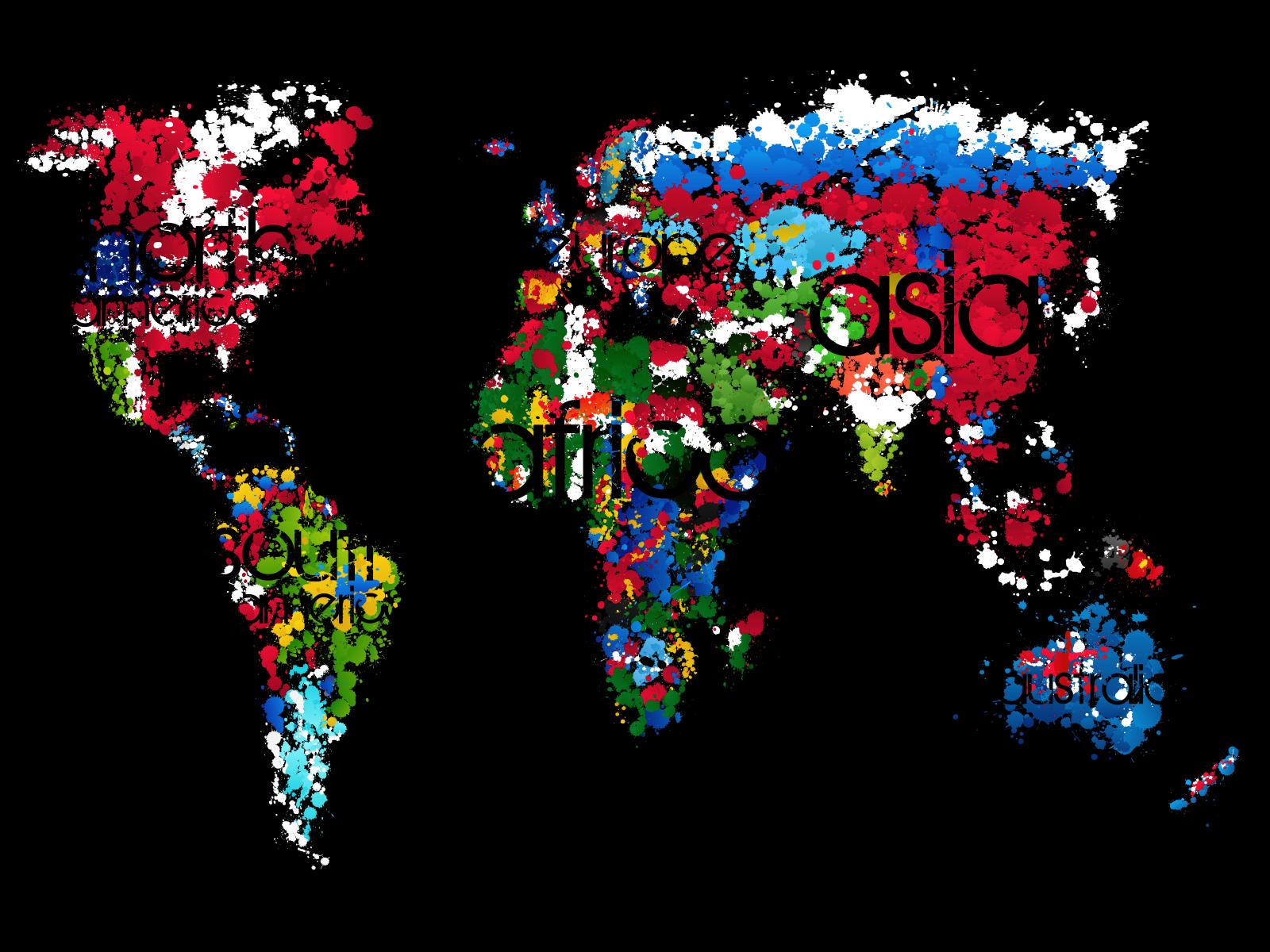 Cool World Map