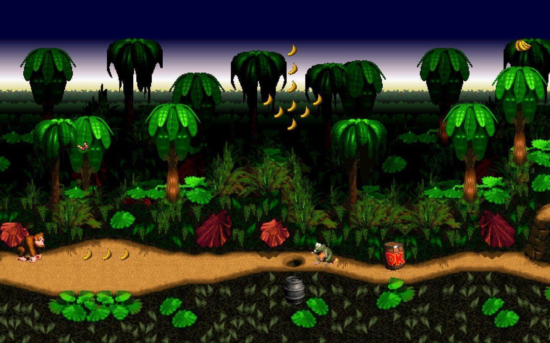Donkey Kong Country Background