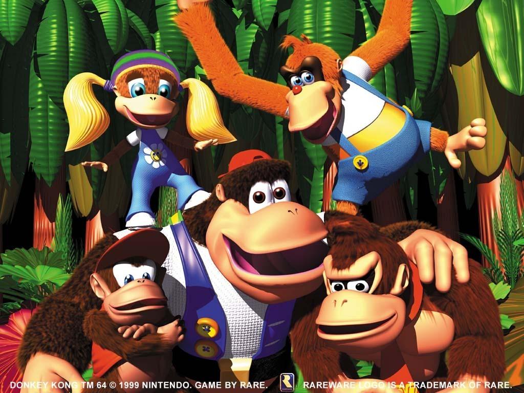 Donkey Kong 64 Wallpaper