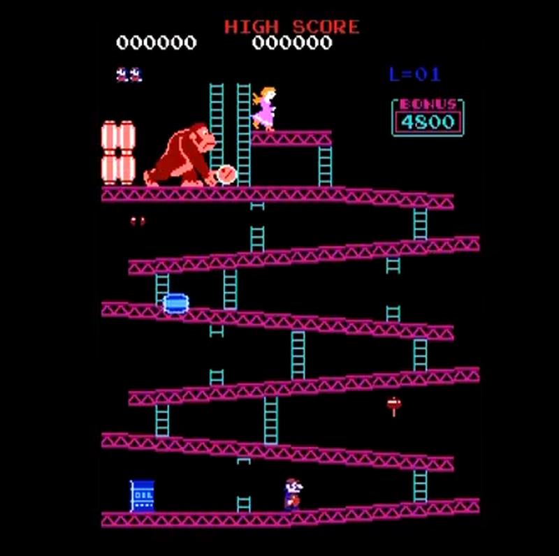 Donkey Kong Retro Game