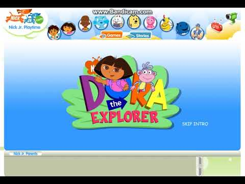 Nick Jr Playtime Dora