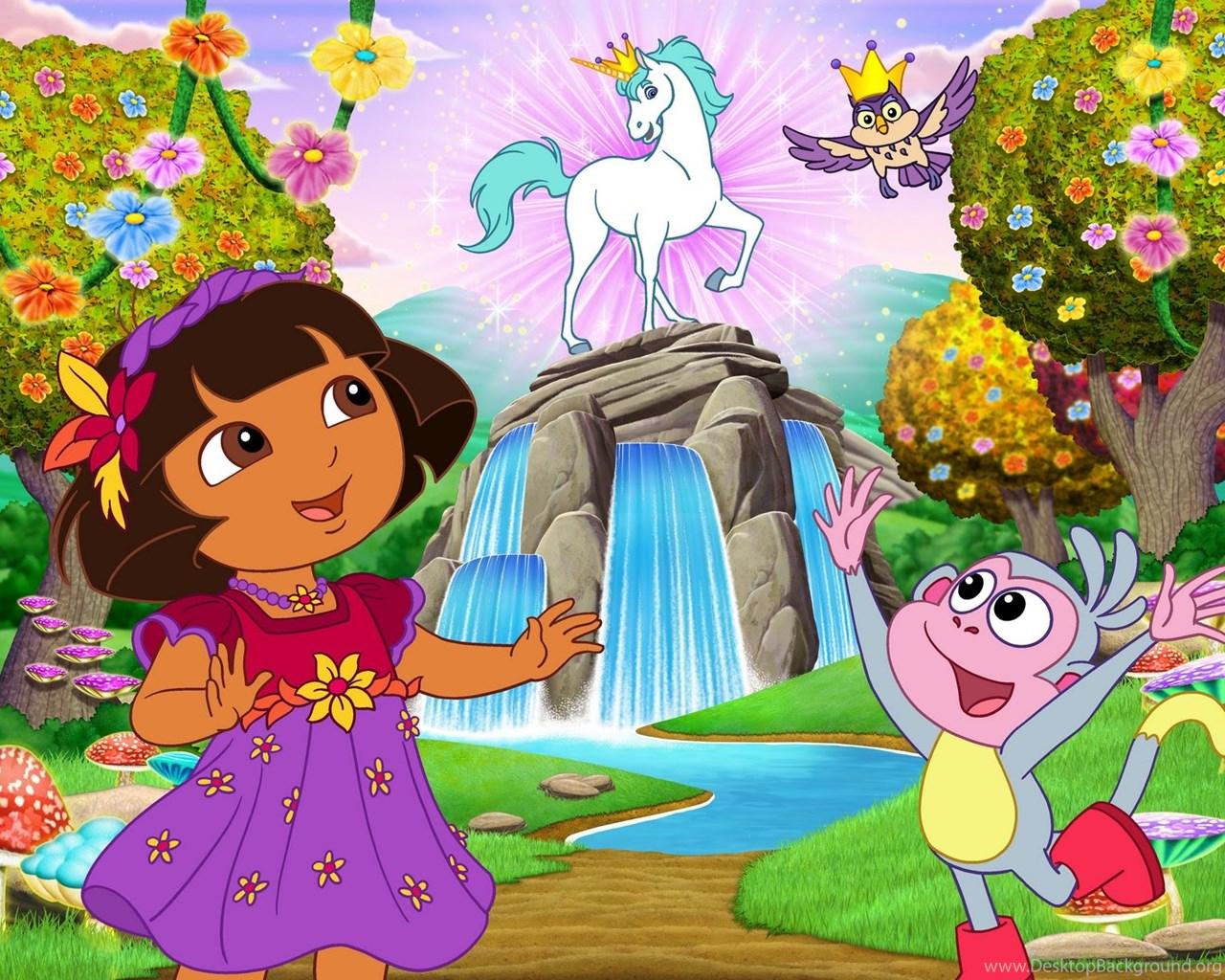 Dora the Explorer Desktop
