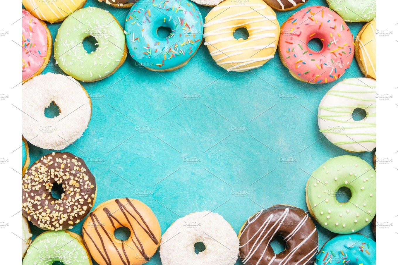 Donut Backdrop