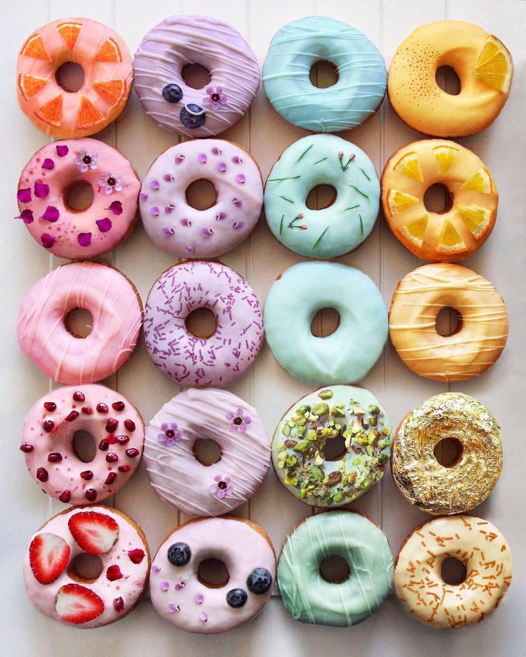 Pastel Donut Backgrounds