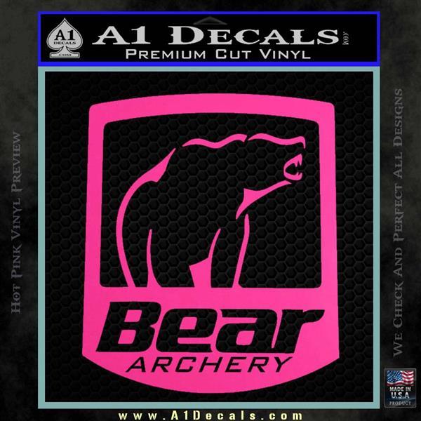 Bear Archery Decals