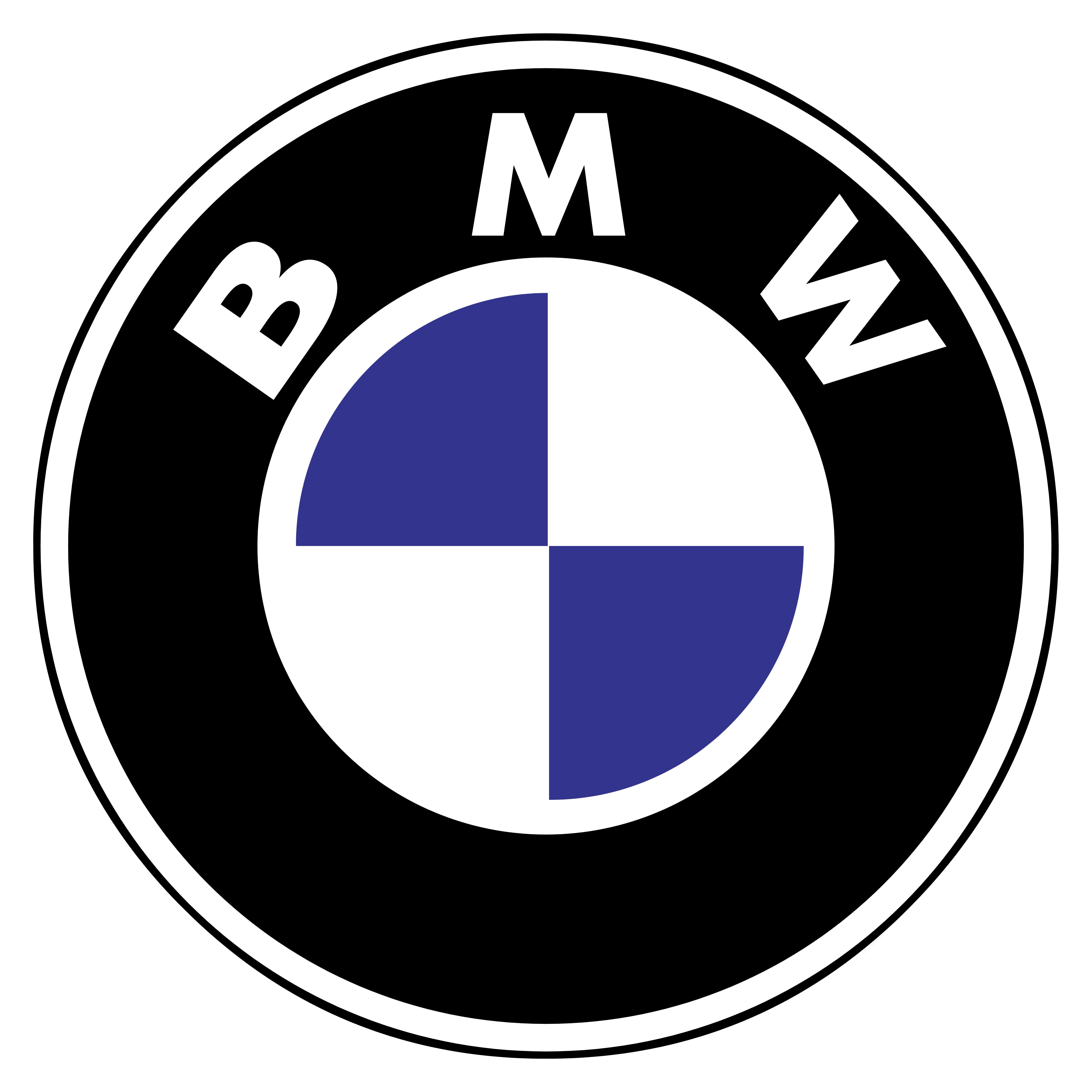 BMW Logo Black