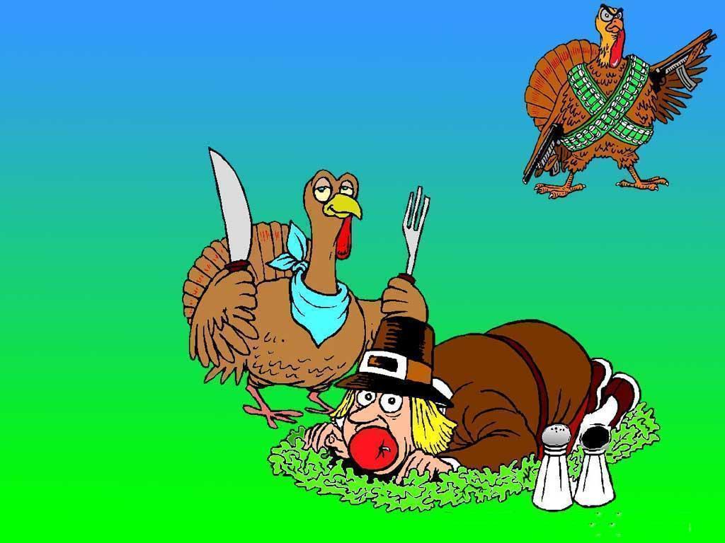 Funny Thanksgiving Screensavers Free