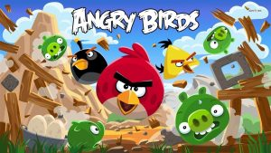 Angry Birds Screen Captures For Downloading