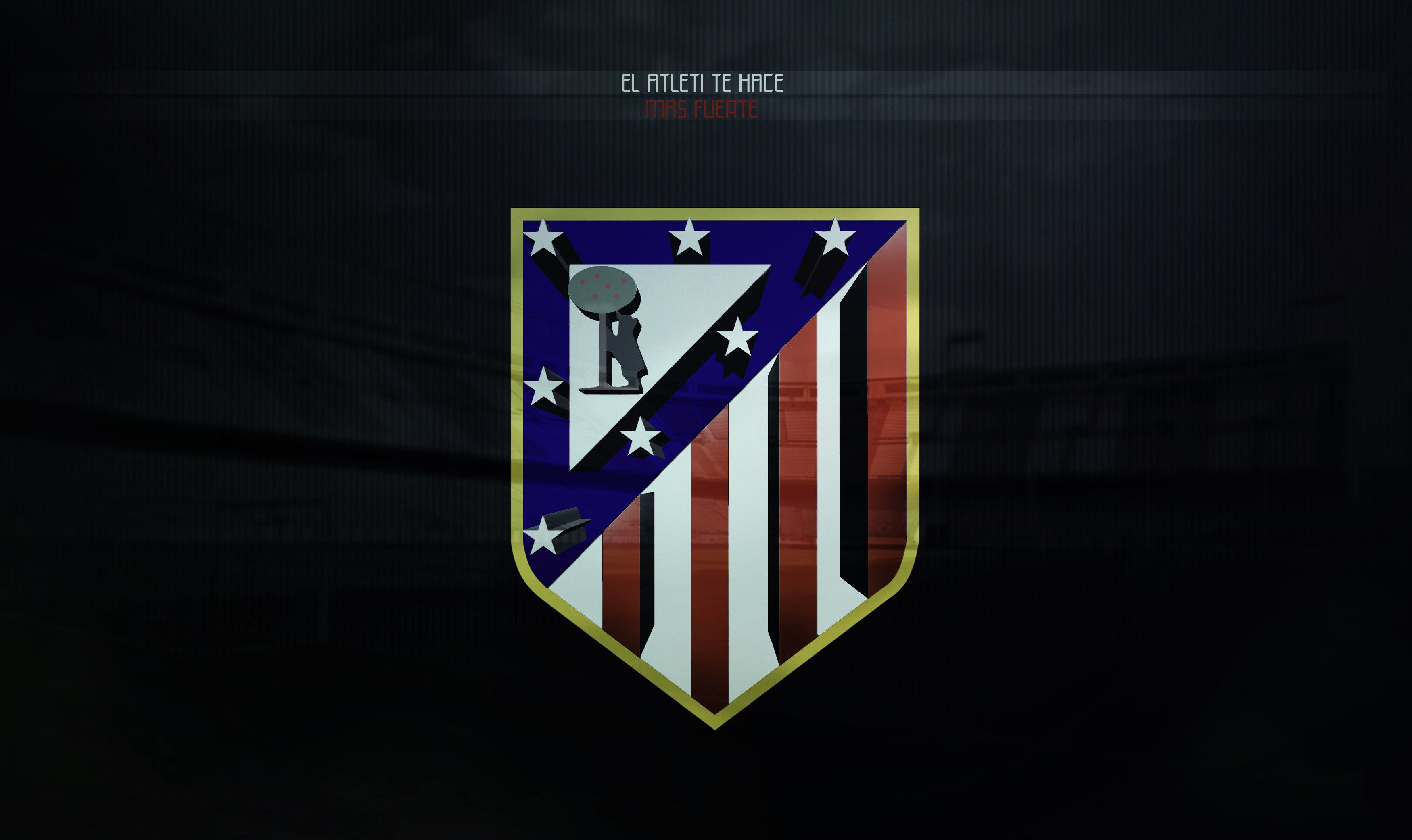 HD Atletico Madrid Logo Wallpaper