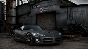 Dodge Viper Performance Car Photographs