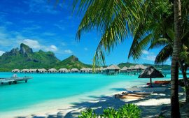 Bora Bora Dream Holiday Island Desktop Wallpaper