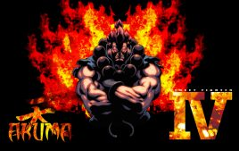 Akuma Street Fighter Background H