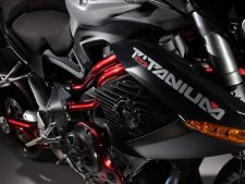 Benelli Motorbike Photographs Taken as Background for Desktop Screens