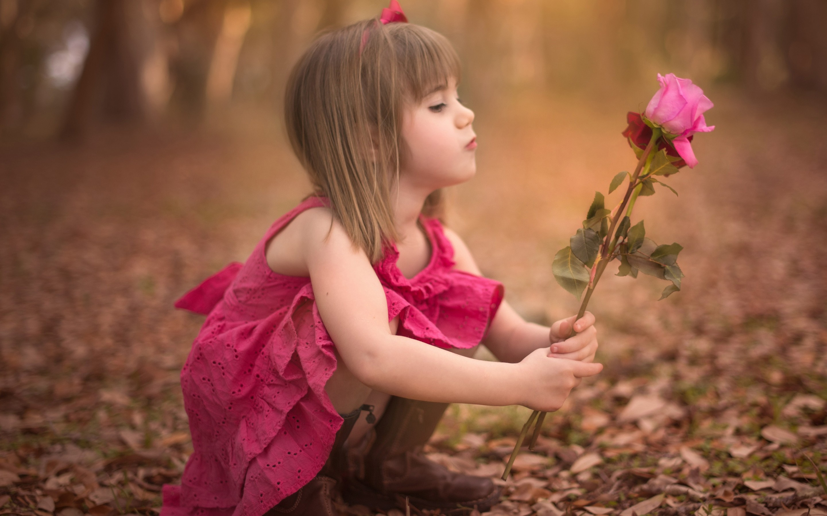 wallpaper.wiki-cute-baby-girl-with-roses-hd-backgrounds-pic