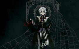 D Gray Man Desktop Background