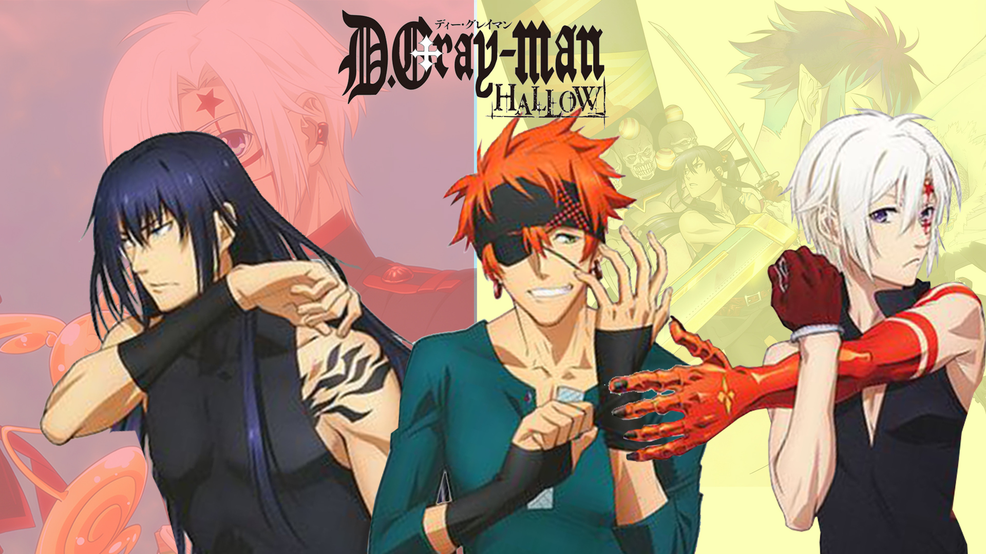 D gray man desktop background part 2 - D gray man images ...