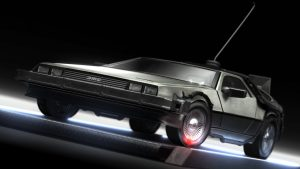 HD Delorean Wallpaper