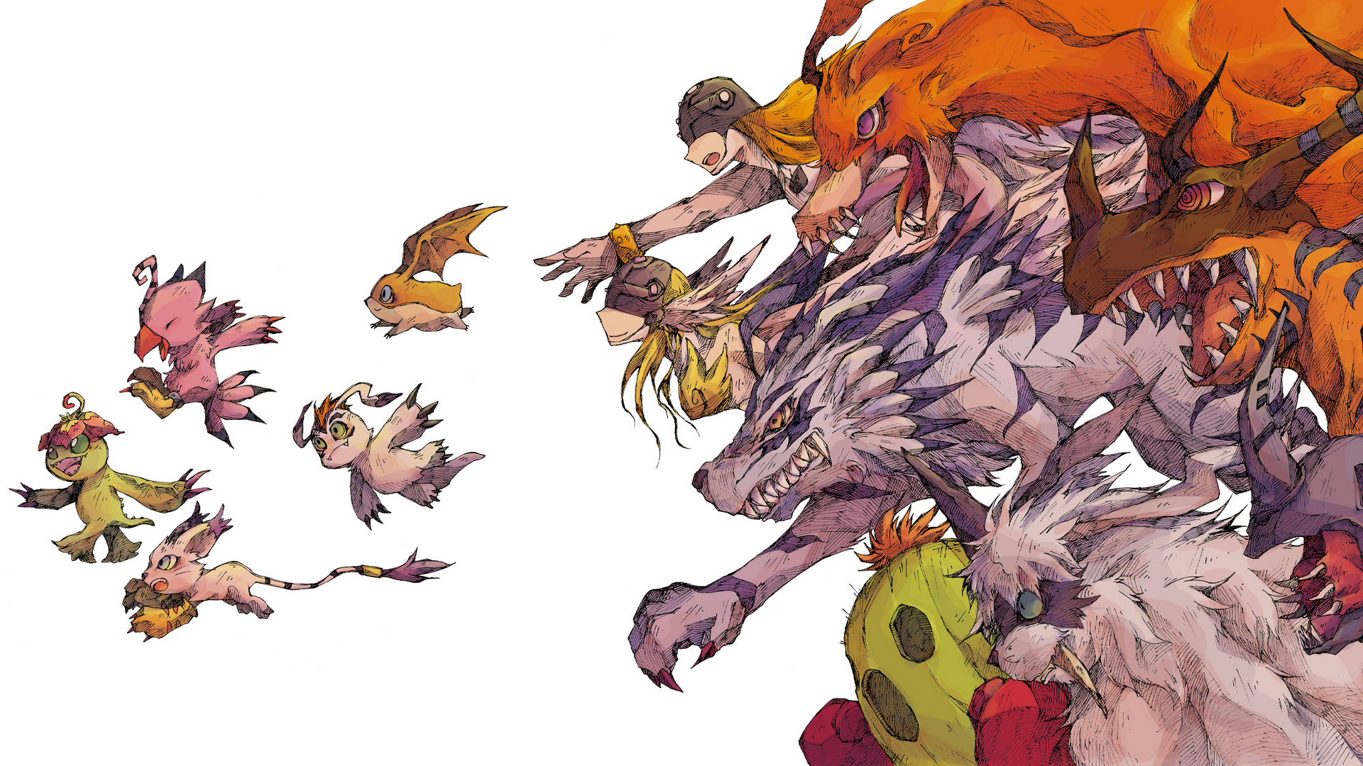 Digimon Desktop Wallpapers Page 3 of 3 wallpaperwiki
