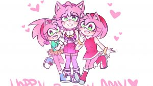 Download Free Amy Rose Background