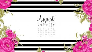 Free Download August Background