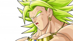 Broly Dragon Ball Movie Creations