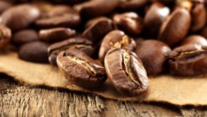 HD Coffee Bean Wallpaper