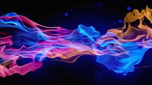 Brightly Colorful Smoke Design Images and Abstract Forms Here