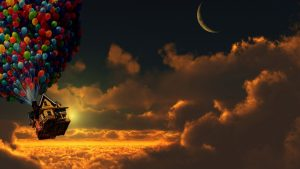 Crescent Moon Background Free Download