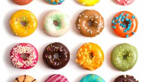 Doughnut or Donut Background Yummy Pictures