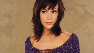 Download Free Alyssa Milano Background