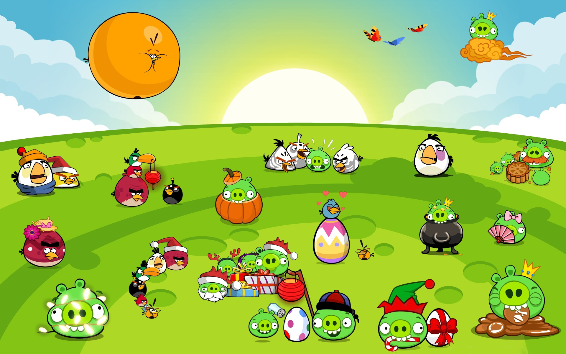 hd angry birds background | wallpaper.wiki
