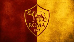 As Roma Logo Wallpaper Free Download