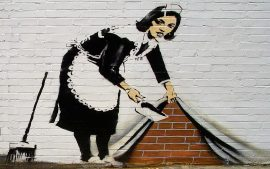 Download Free Banksy Art Wallpaper