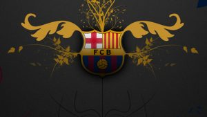 Barcelona Logo Iphone 5 HD Wallpaper