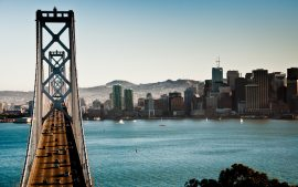 Bay Bridge Background Free Download