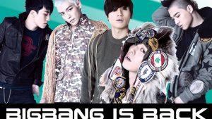 Big Bang KPop Band Screen Shot Images