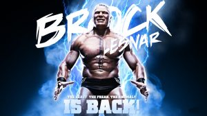 Brock Lesnar HD Background