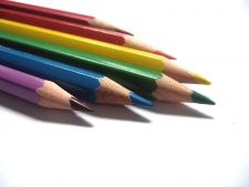 Crayon Colourful Pictures For Downloading