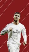 Cristiano Ronaldo iPhone Creations and Screenshots