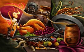 Download Free Cute Happy Thanksgiving Colorful Pictures