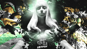 HD Lady Gaga Artpop Wallpaper