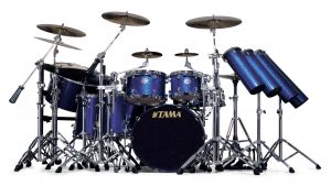 Drum Set Rocking Background Picture Selection