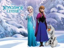 Elsa And Anna Characters From Movie Frozen Screen Images