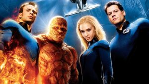 Fantastic Four Super Hero Team Image Background Cartoons