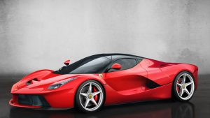 Ferrari Laferrari F150 Hybrid Sports Car Imagery