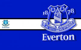 Everton Football Team and Logo Wallpapers Sample