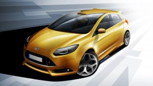 Focus ST Car Backgrounds Free Download