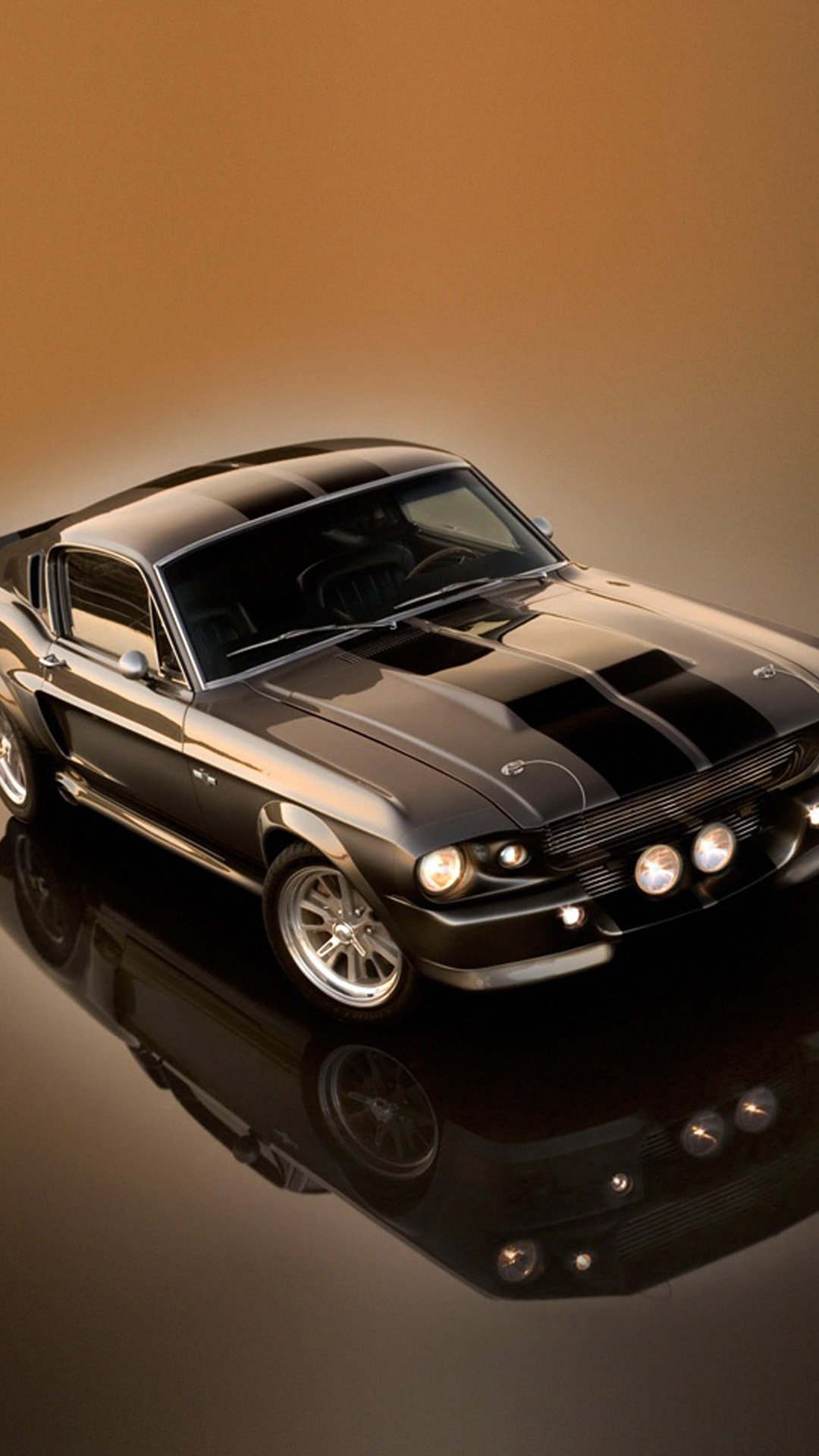 Wallpaperwiki Ford Mustang Shelby GT500 Eleanor HD Wallpaper IPhone