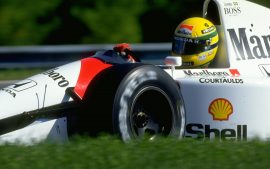 HD Ayrton Senna Wallpaper