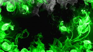HD Abstract Green Wallpaper